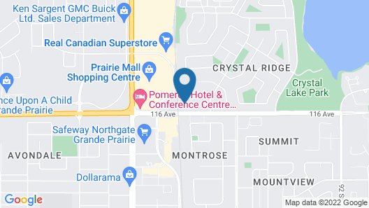Holiday Inn Express & Suites Grande Prairie, an IHG Hotel Map