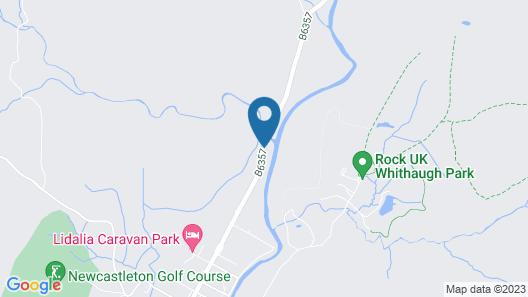 Black Burn Lodge Self Catering Map