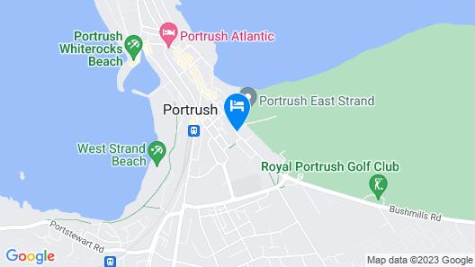 Portrush Luxury Apartments Curran Gate Map
