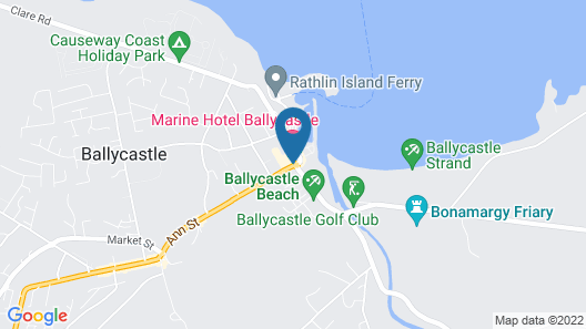 The Marine Hotel Map