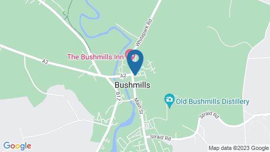 Pyjama Factory Self Catering Accommodation Map