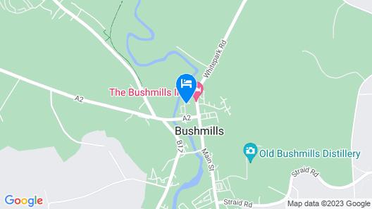 The Bushmills Inn Map
