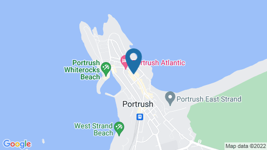 The Port Hotel Map