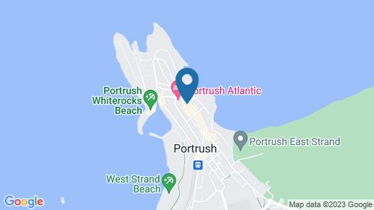 Adelphi Portrush Map