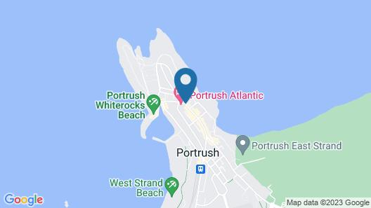 Portrush Atlantic Hotel Map