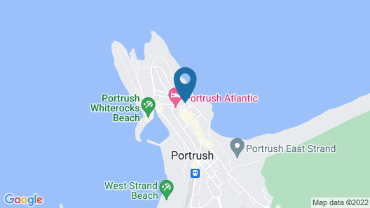 Antrim Gardens Portrush Map