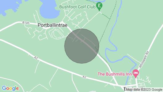 Portballintrae 10 Ballaghmore Cottages Map