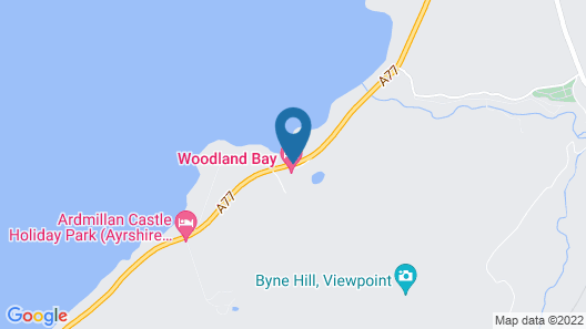 Woodland Bay Hotel Map
