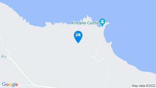Kinbane Self-Catering Map