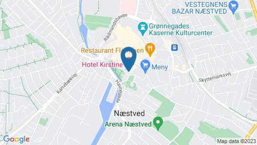 Hotel Kirstine Map