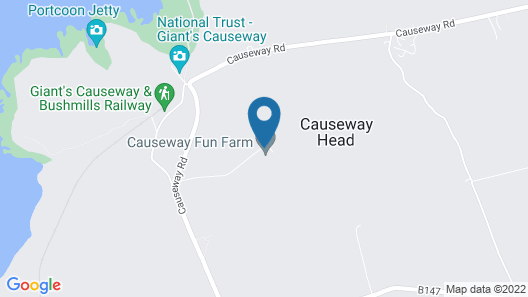 Carnside Guest House Map