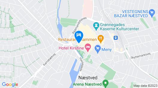 Hotel Vinhuset Map
