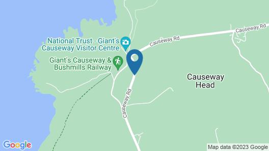Finn McCool's Giants Causeway Hostel Map