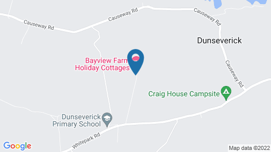 Bayview Farm Holiday Cottages Map