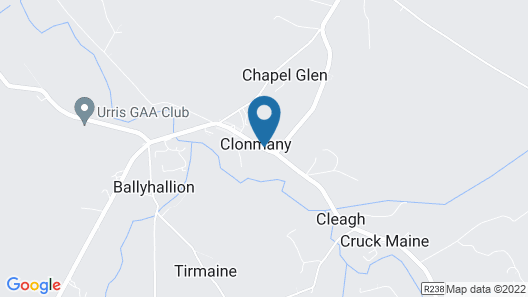 3-bed House in Clonmany With Panoramic Hillside Se Map