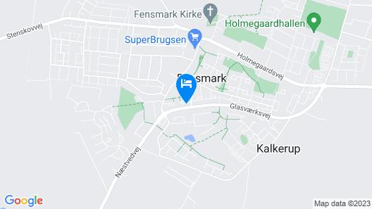 Guesthouse Fensmark v/Helge Sahl Map