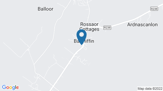 Ballyliffin TownHouse Boutique Hotel Map