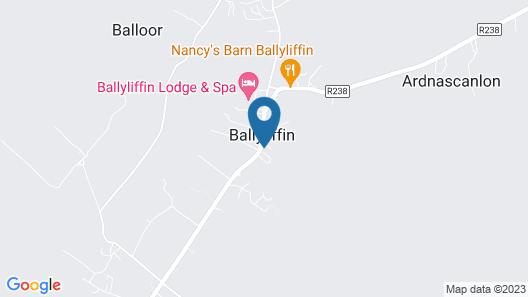 Ballyliffin Hotel Map