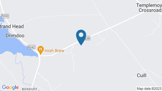 Culdonagh Manor B&B Map