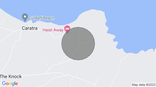 Spectaular Home Overlooking Culdaff Beach on the Wild Atlantic Way Map