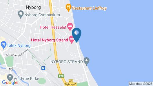 Nyborg Strand  Hotel og Konferencecenter Map