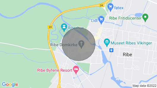 1 Bedroom Accommodation in Ribe Map