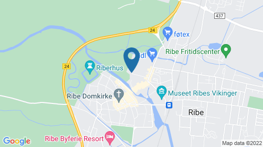 Danhostel Ribe Map