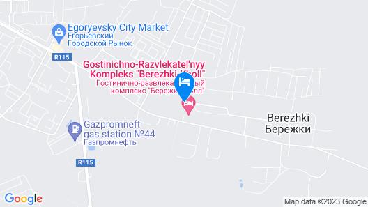 Berejki Hall Map