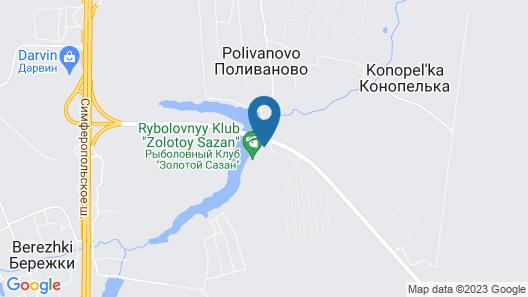 Hotel Fish Point Family Resort (Zolotoy Sazan) Map