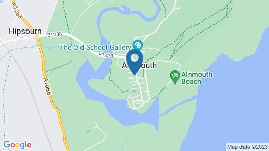 The Sun Inn Alnmouth Map