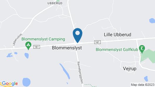Blommenslyst Kro Map