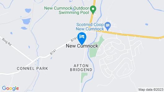Lochside House Hotel & Spa Map