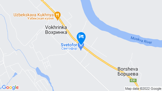 Mini Hotel Diamant Borsheva Map