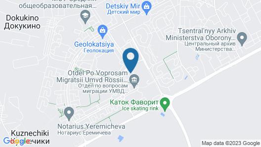 Dobriye Sutki - Krasnogvardeiskiy 15a Map