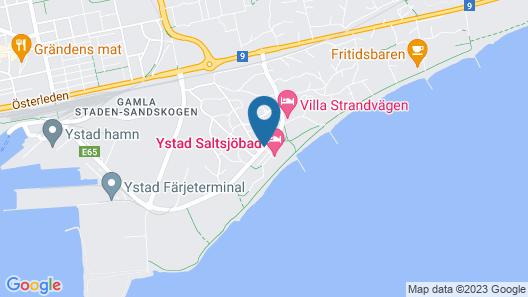 Ystad Saltsjöbad Map