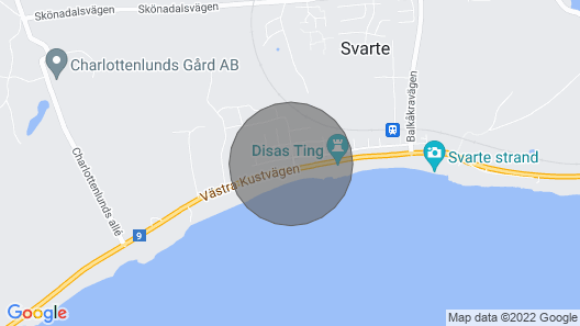 2 Bedroom Accommodation in Ystad Map
