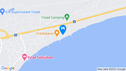 Beach House Ystad  Map