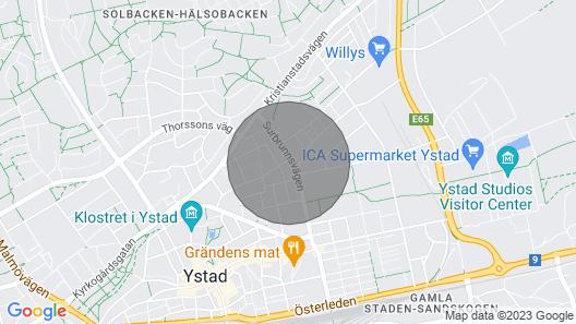 2 Bedroom Accommodation in Ystad Map