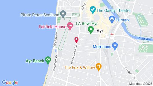 Savoy Park Hotel Map