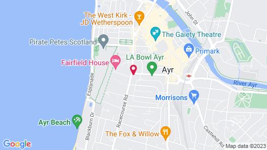 OYO Glenpark Hotel Map