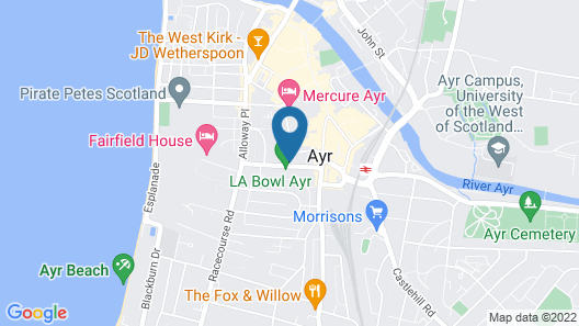 The Ivy Rooms Map