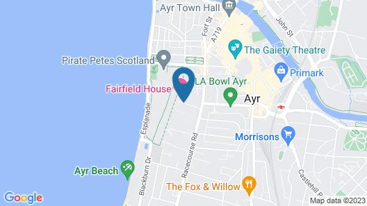 Fairfield House - Ayr Map