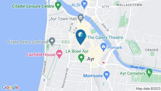 Mercure Ayr Hotel Map