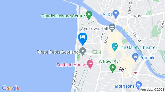 Bythesea Guest House Map