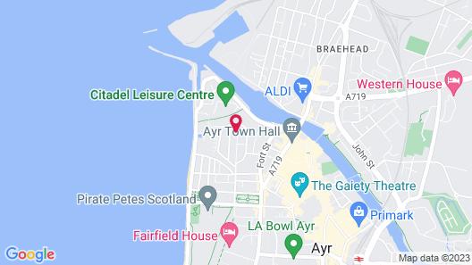 Eglinton Guest House Map