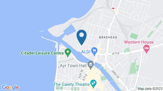 Granary Suite No3 - Donnini Apartments Map