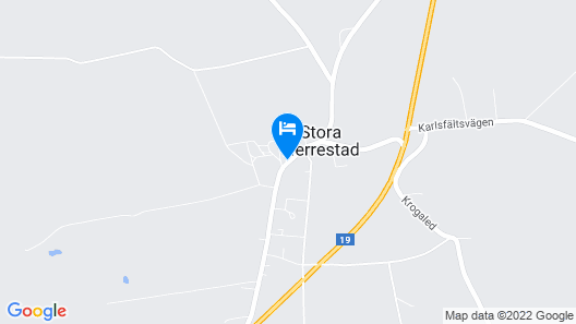 Stora Herrestad Bed&Breakfast Map