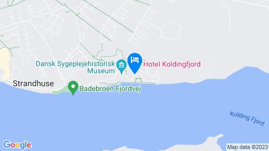 Hotel Koldingfjord Map