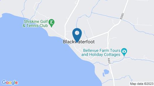 Best Western Kinloch Hotel Map