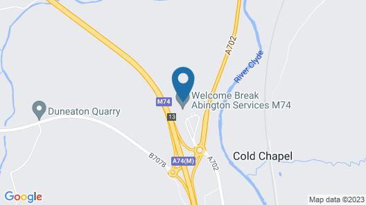 Days Inn by Wyndham Abington M74 Map